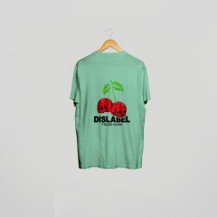 ФУТБОЛКА DISLABEL CHERRY SKULL MINT