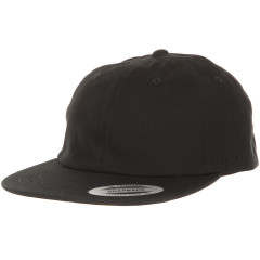 Кепка FlexFit 6245CM Dad Hat - Flat Brim Black