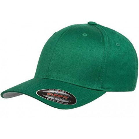 Кепка FlexFit 6277 Wooly Combed Pepper Green