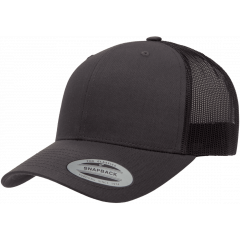 Кепка FlexFit 6606 Retro Trucker - Charcoal