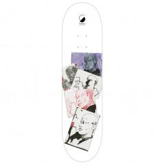 "Дека Furtive Skateboards ""Sketch White"" 8.125x32"