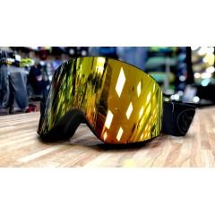 Горнолыжная маска Vizzo AFFECT gold mirror black frame