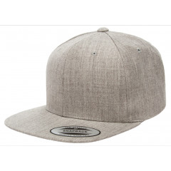 Кепка FlexFit Classic Snapback Heather Grey