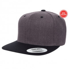 Кепка FlexFit Classic Snapback Dark Heather/Black