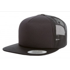 Кепка FlexFit 6005FF NO FOAM Trucker Black